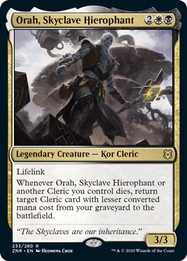 Orah, Skyclave Hierophant