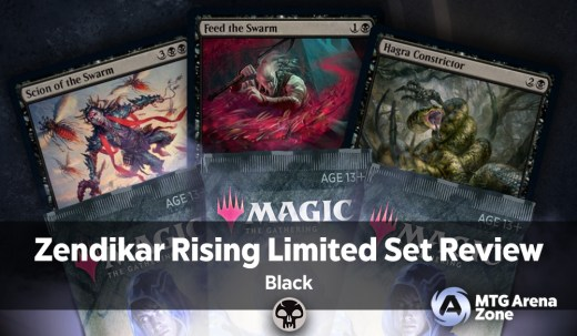 Zendikar Rising Limited Set Review Black