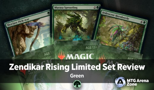 Zendikar Rising Limited Set Review Green