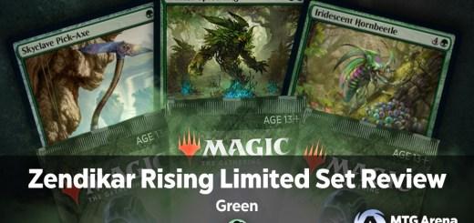 Zendikar Rising Limited Set Review Green