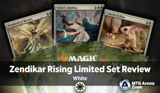 Zendikar Rising Limited Set Review - White