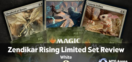 Zendikar Rising Limited Set Review - White