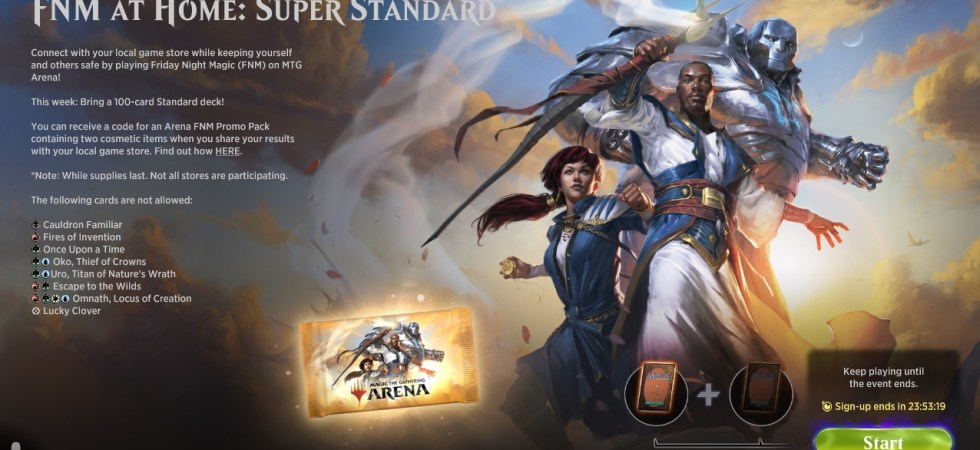 FNM at Home: Super Standard