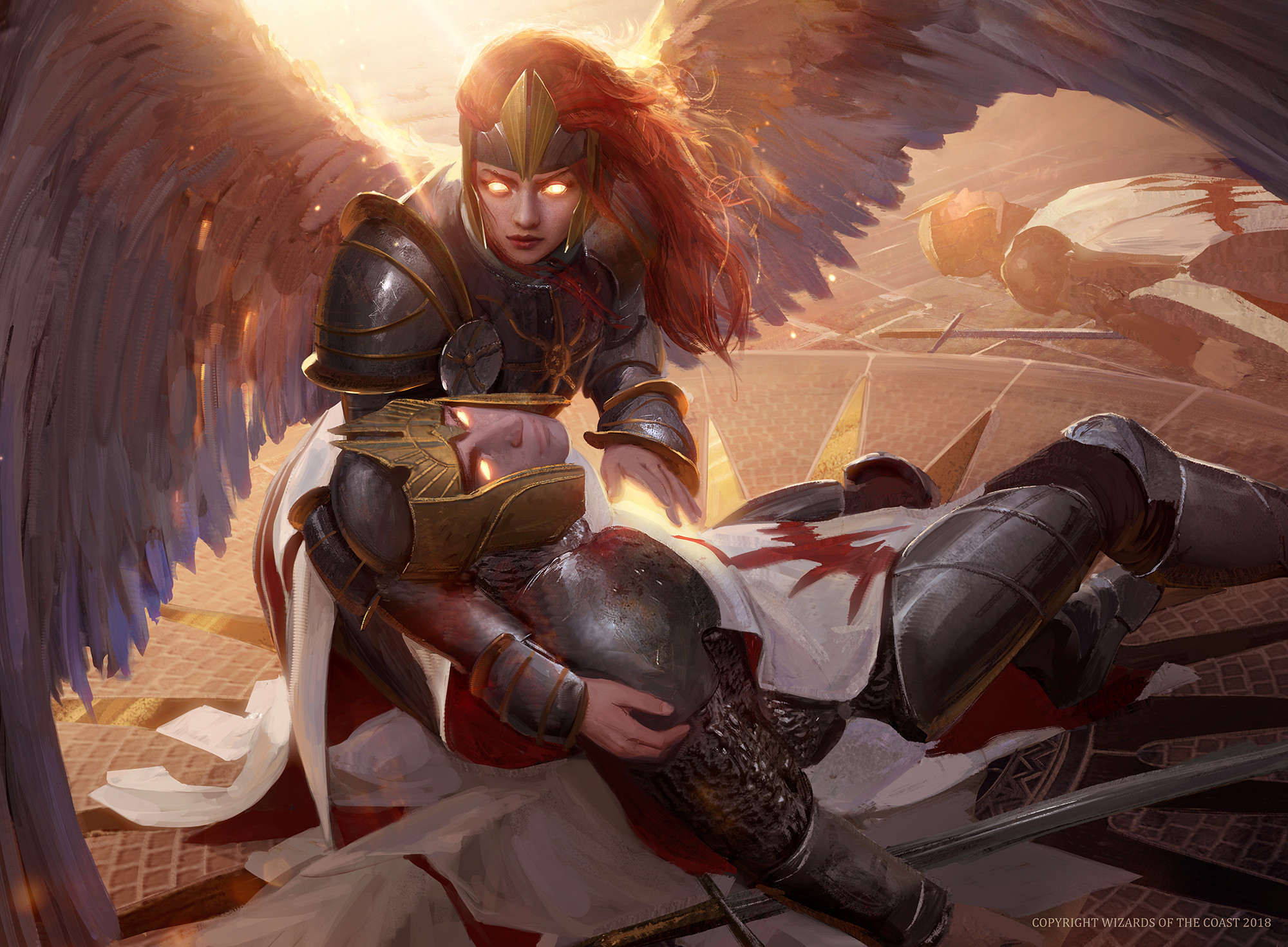 Chance for Glory Art by Bram Sels