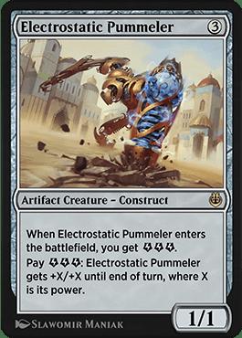 Electrostatic Pummeler