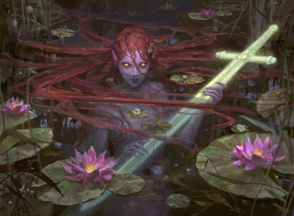 Emry, Lurker of the Loch Art by Livia Prima