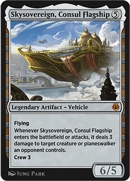 Skysovereign, Consul Flagship