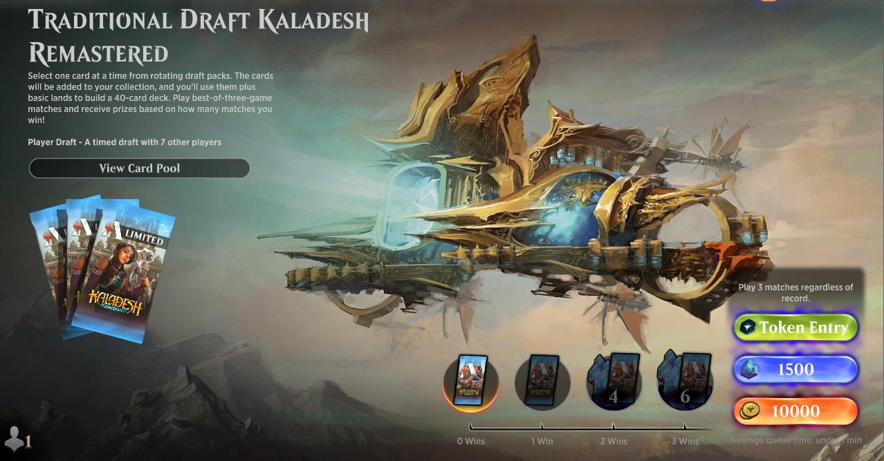 Traditional Draft Kaladesh Remastered