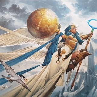 Linvala-Shield-of-Sea-Gate-Zendikar-Rising-MtG-Art
