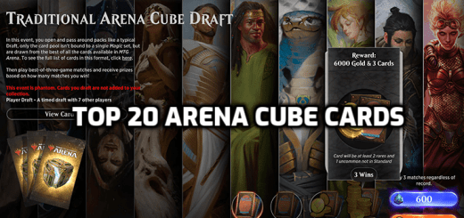 Top 20 Arena Cube Cards