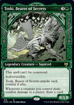 Toski, Bearer of Secrets Showcase