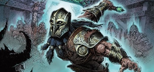Halvar, God of Battle Art by Milivoj Ćeran
