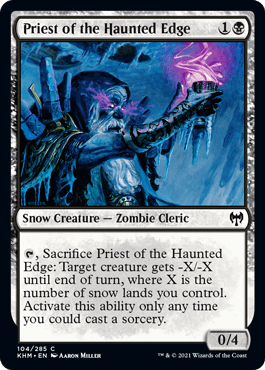 Priest of the Haunted Edge