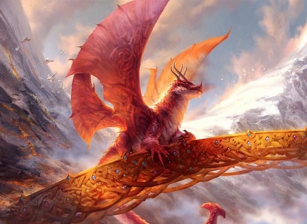 Goldspan Dragon Art by Andrew Mar