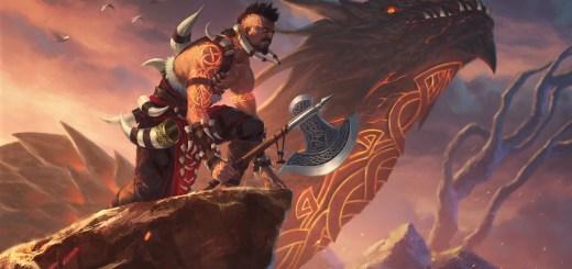 Dragonkin Berserker Art by Lie Setiawan