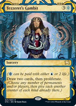 021 Mystical Archives Spoiler Card