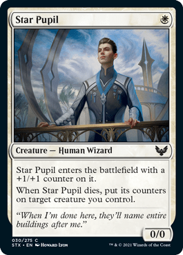 030 Star Pupil Strixhaven Spoiler Card