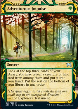 049 Mystical Archives Spoiler Card