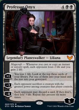 083 Professor Onyx Strixhaven Spoiler Card