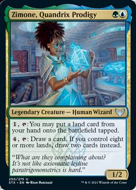 Zimone, Quandrix Prodigy - Strixhaven: School of Mages