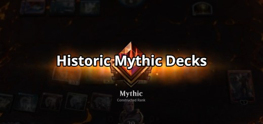 Historic Mythic Decks