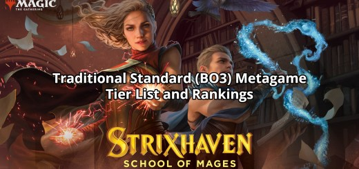 Traditional Standard (BO3) Metagame Tier List and Rankings: Strixhaven
