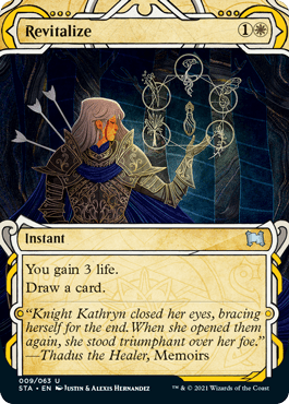 009 Revitalize Mystical Archives Spoiler Card
