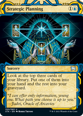 020 Strategic Planning Mystical Archives Spoiler Card