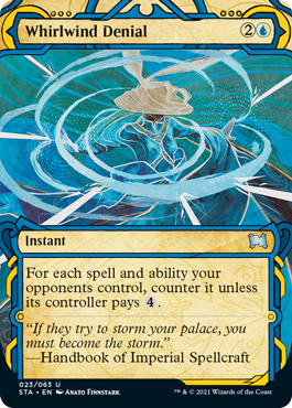 023 Whirlwind Denial Mystical Archives Spoiler Card