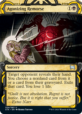 024 Agonizing Remorse Mystical Archives Spoiler Card
