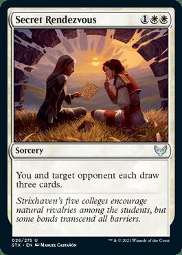 026 Secret Rendezvous Strixhaven Spoiler Card