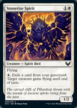 032 Stonerise Spirit Strixhaven Spoiler Card