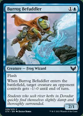 038 Burrog Befuddler Strixhaven Spoiler Card