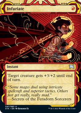 041 Infuriate Mystical Archives Spoiler Card