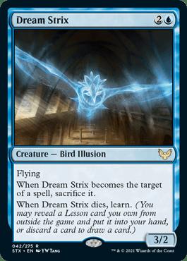 042 Dream Strix Strixhaven Spoiler Card