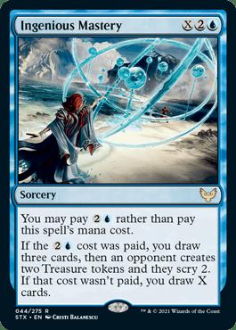 044 Ingenious Mastery Strixhaven Spoiler Card
