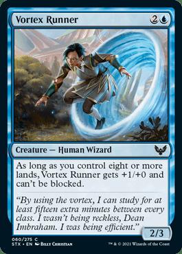 060 Vortex Runner Strixhaven Spoiler Card