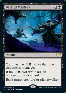 064 Baleful Mastery Strixhaven Spoiler Card