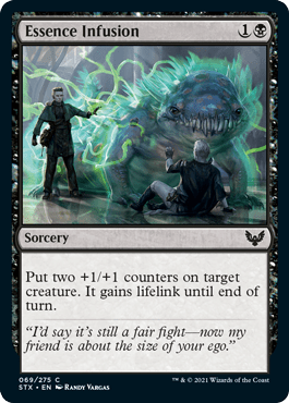 069 Essence Infusion Strixhaven Spoiler Card
