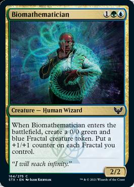 164 Strixhaven Spoiler Card Biomathematician