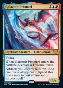 Galazeth Prismari 100-Card Historic Brawl Deck