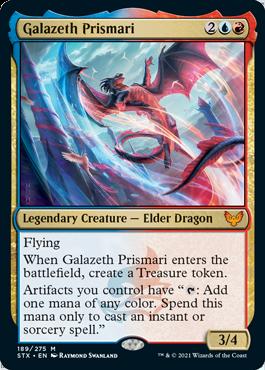 189 Galazeth Prismari Strixhaven Spoiler Card
