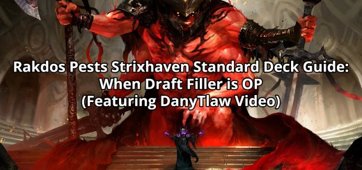 Rakdos Pests Strixhaven Standard Deck Guide: When Draft Filler is OP (Featuring DanyTlaw Video)
