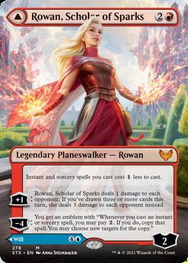 STX 278A Rowan, Scholar of Sparks Borderless