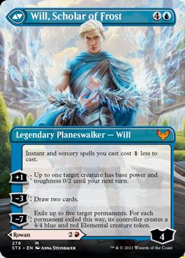 STX 278B Will, Scholar of Frost Borderless
