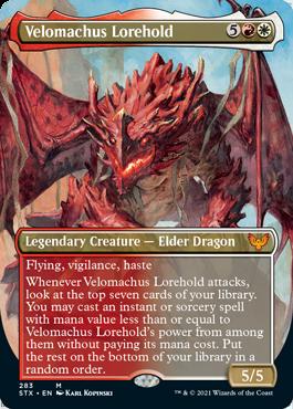 STX 283 Velomachus Lorehold Borderless
