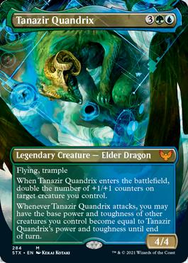STX 284 Tanazir Quandrix Borderless