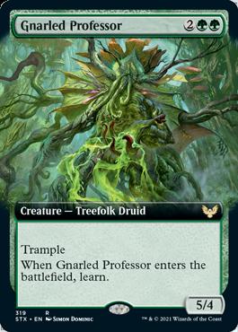 STX 319 Gnarled Professor Extended Art