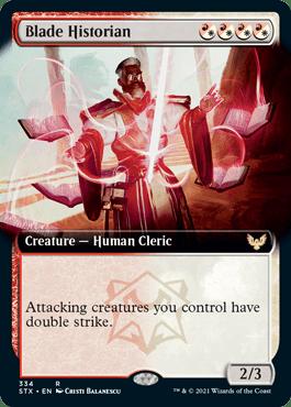 STX 334 Blade Historian Extended Art