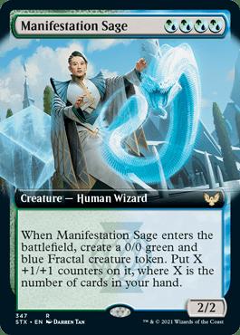 STX 347 Manifestation Sage Extended Art